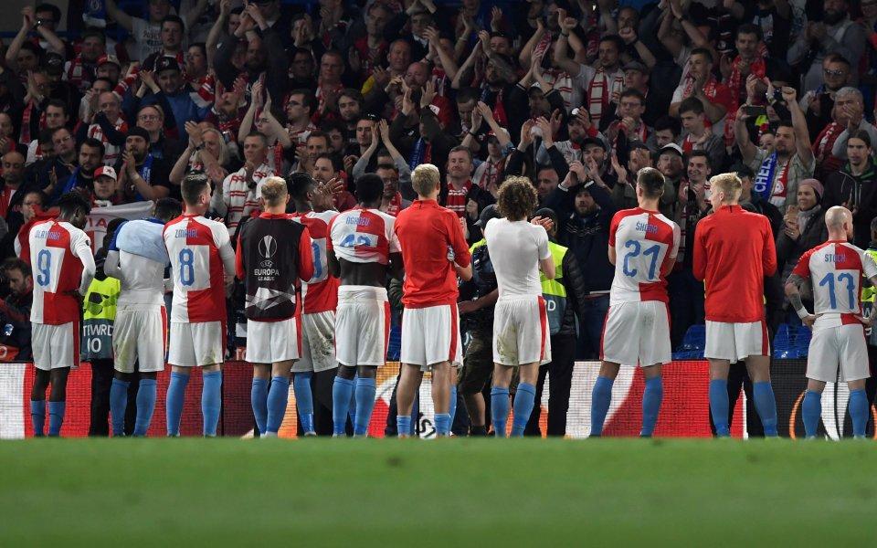 Отборът на Славия Прагаспечели Купата на Чехия по футбол, като
