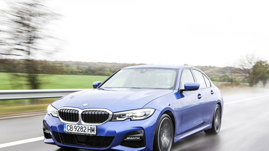 Зад волана на BMW Серия 3