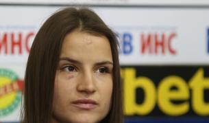 <p>Шампионката Биляна Дудова е изписана в отлично състояние</p>