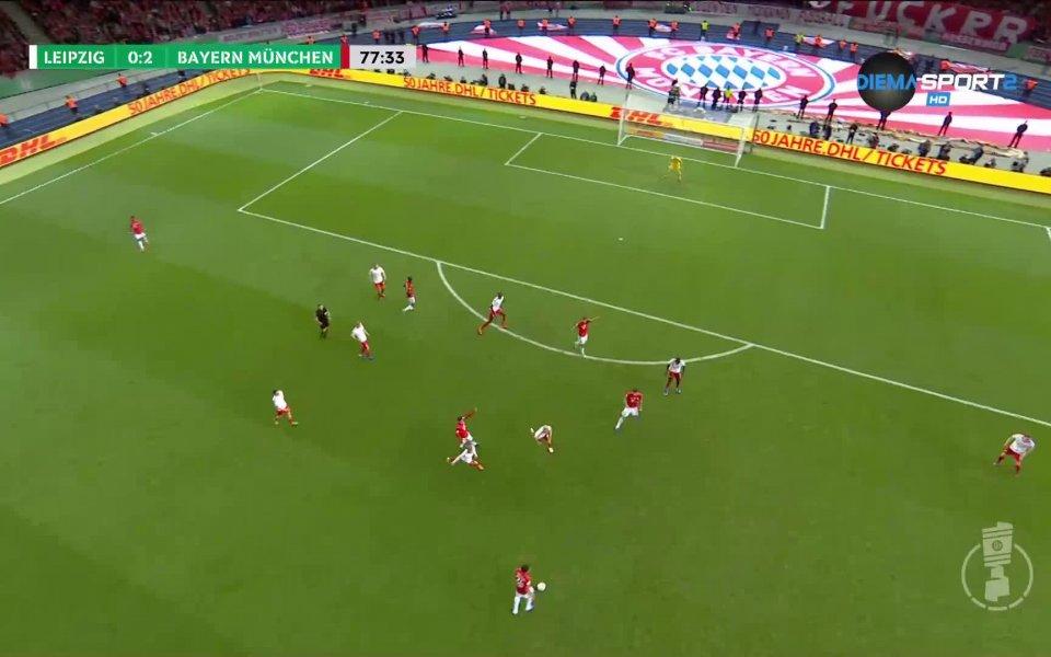 Байерн Мюнхен стигна до второ попадение в мача за Купата