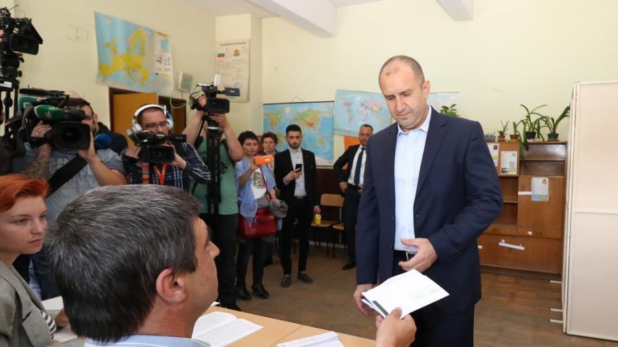 <p><strong>Радев:</strong> Изборите за ЕП са не по-малко важни от националните избори</p>