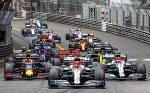 Хамилтън взе трудна победа в Монако, Ферари се добра до второ място