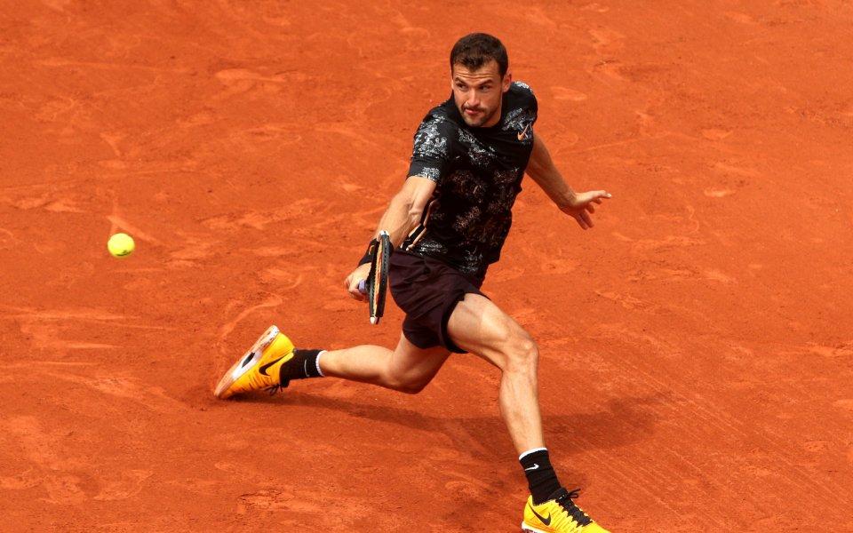 Най-добрият български тенисист при мъжете Григор Димитров призна, че двубоят