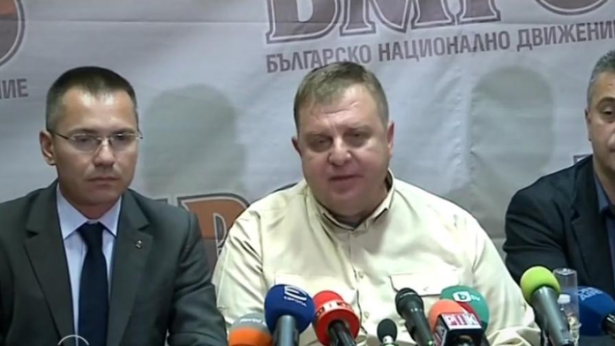 <p>Каракачанов: Как ще ме погледне утре Сидеров</p>