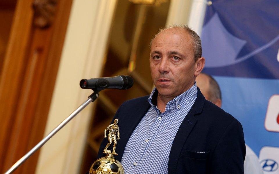 Илиан Илиев бе избран за номер 1 при треньорите в Първа лига