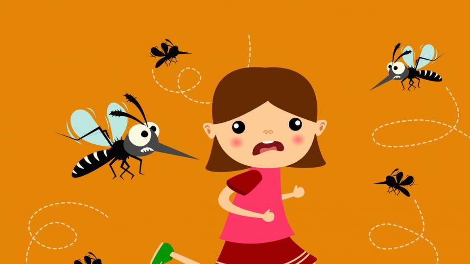 комар ухапване