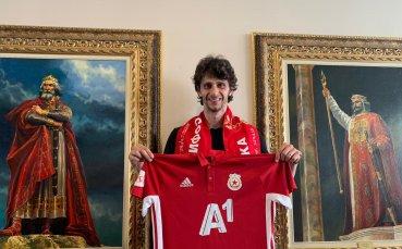 Фабрини: ЦСКА е добра стъпка в кариерата ми