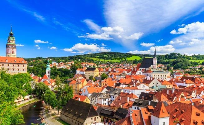 Едни от най-красивите градчета в Чехия (СНИМКИ)