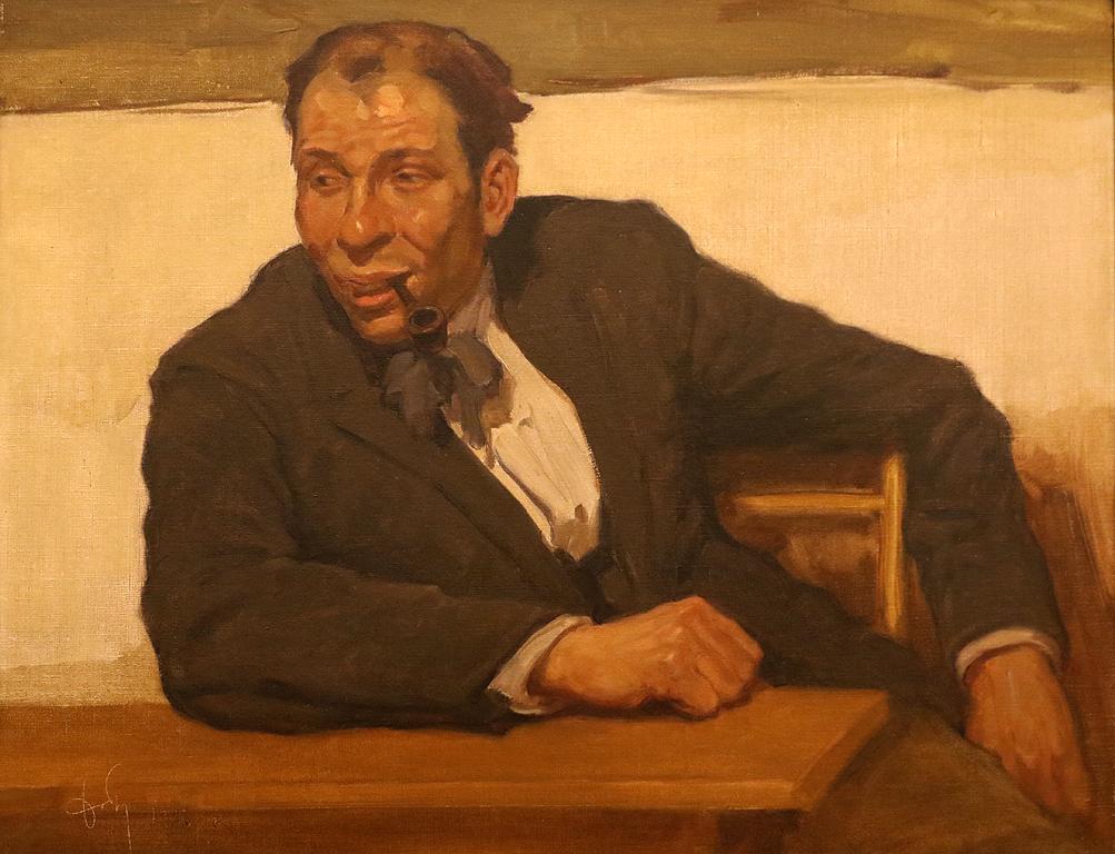 Портрет на каменоделеца Владо Петров 1926