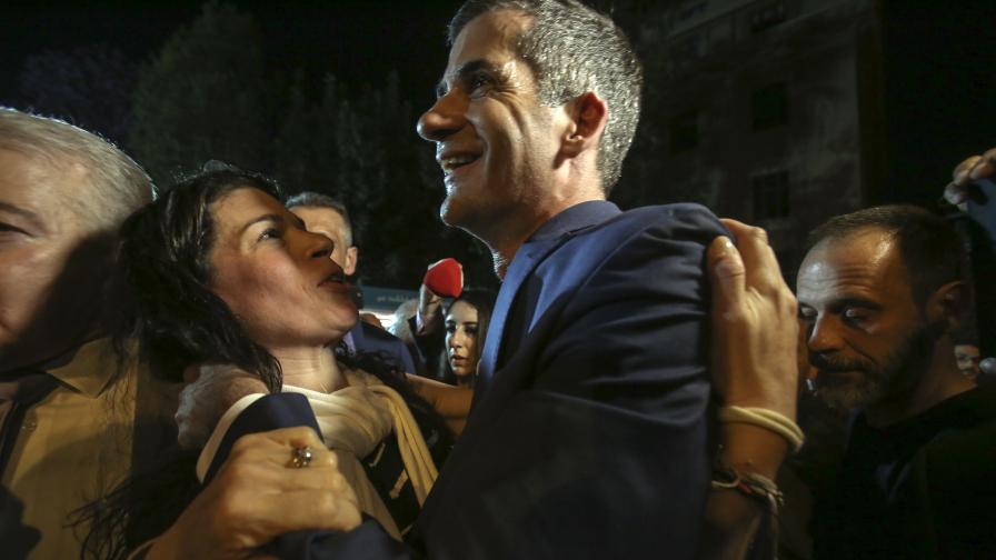 """Победа за """"Нова демокрация"""" в Гърция, помете """"Сириза"""""""