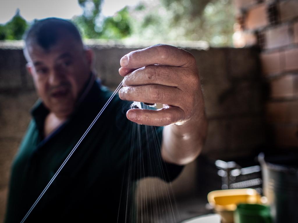 Износът на сурова коприна в Турция намаля с 70% между 2008 и 2019 година.