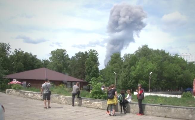 Най-малко 116 ранени при експлозии в Дзержинск