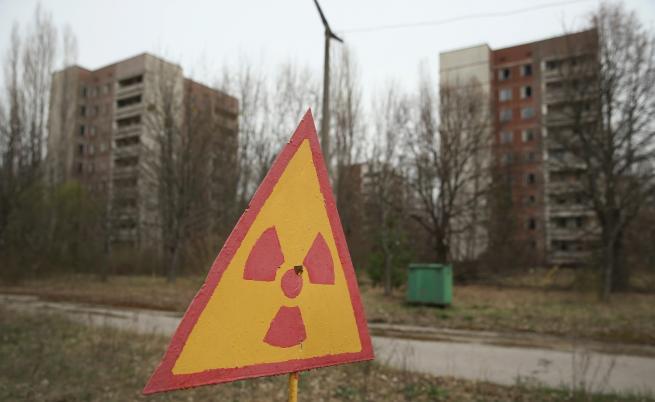 Дрон над призрачния град край Чернобил (видео)