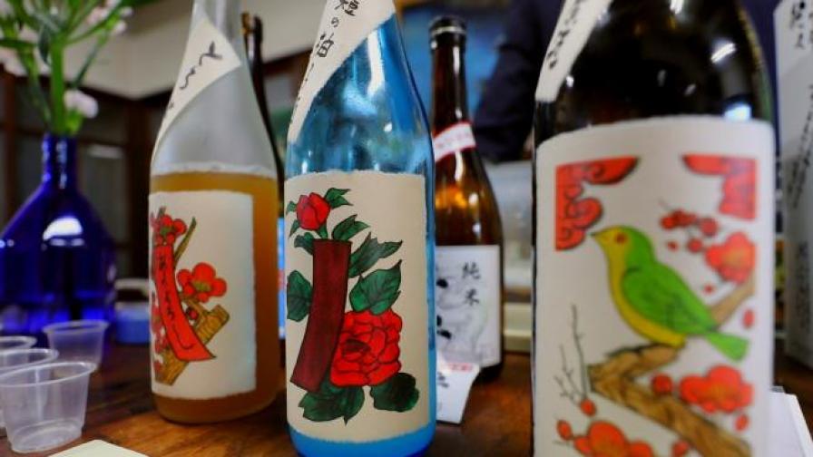 Как се пие саке