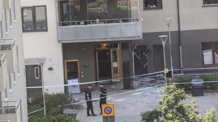 Мощна експлозия разтърси шведски град, много ранени