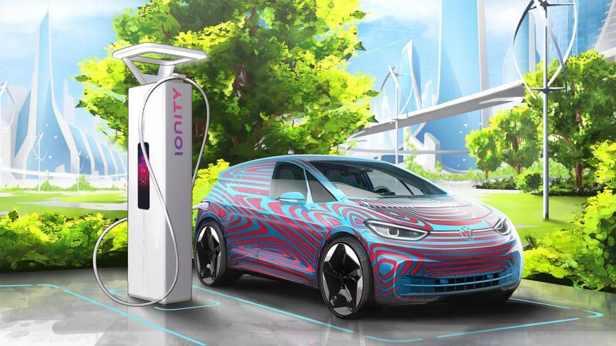 VW ще монтира 36 000 зарядни точки в Европа до 2025 г.