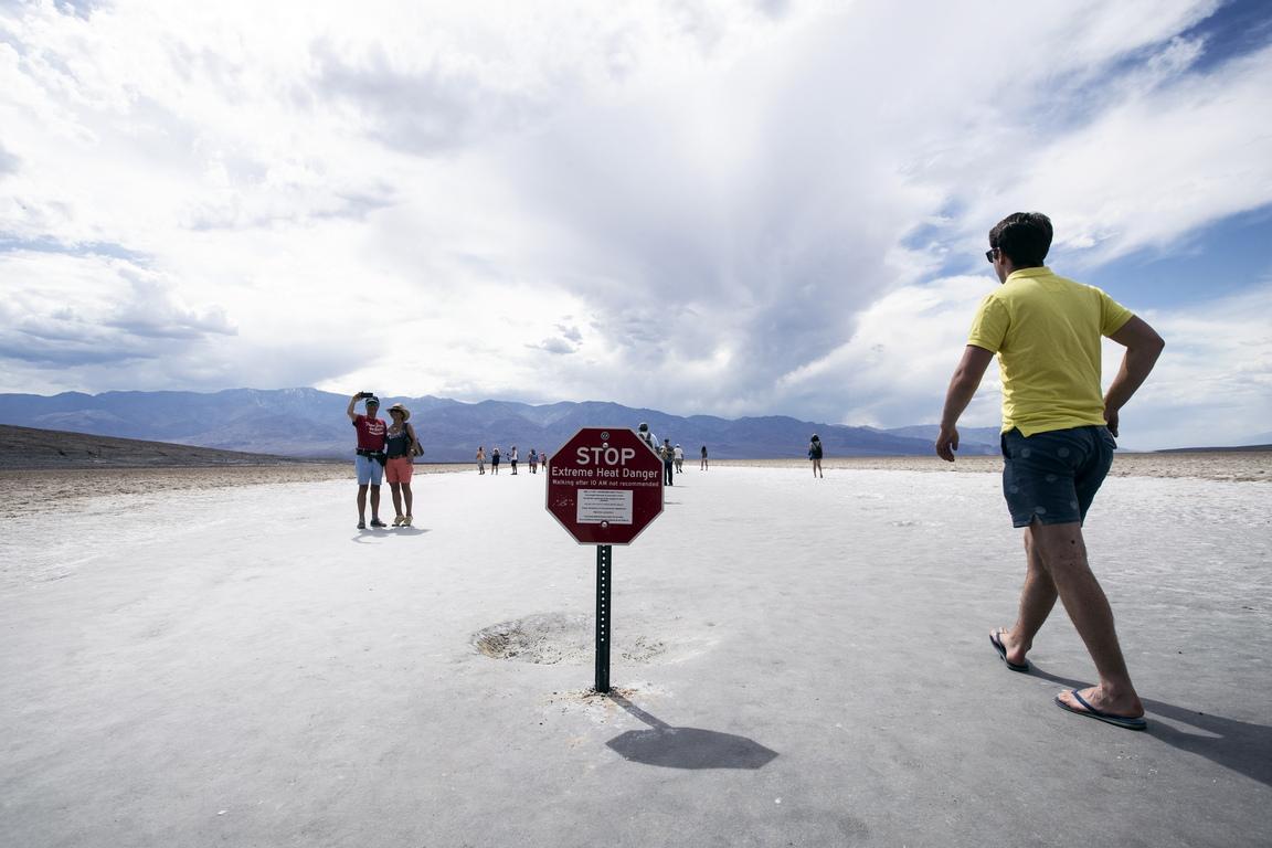 """Националният парк """"Долината на смъртта"""", разположен в северната пустиня Мохаве, привлече повече от 1,65 милиона посетители през 2018 година"""
