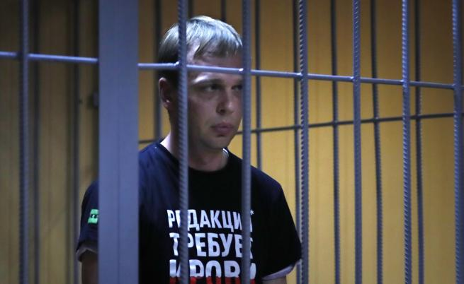 Русия спря делото срещу Голунов, проверяват полицаи