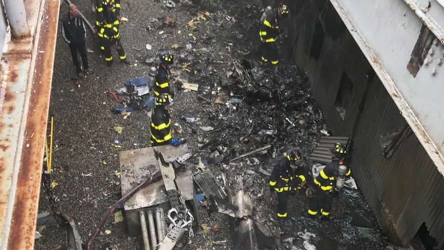Идентифицираха пилота от катастрофата с хеликоптер в Манхатън