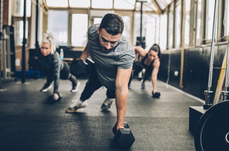 Тренировка с тежести<br /> Чудесен начин да поддържате силна мускулатура и бърз метаболизъм.