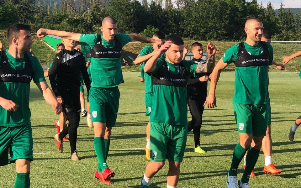 Берое започна лятната си подготовка с 20 футболисти и двама
