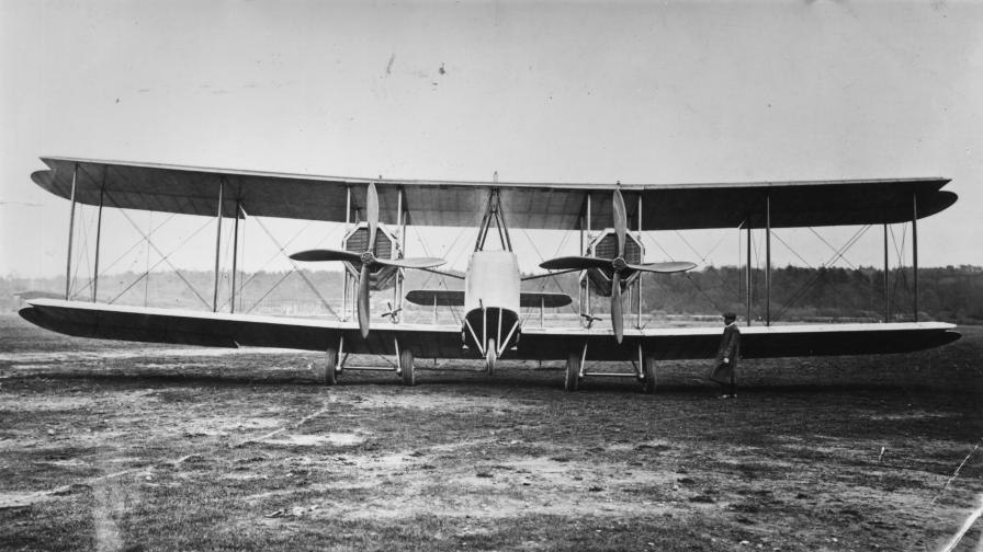 100 години от първия полет над Атлантическия...