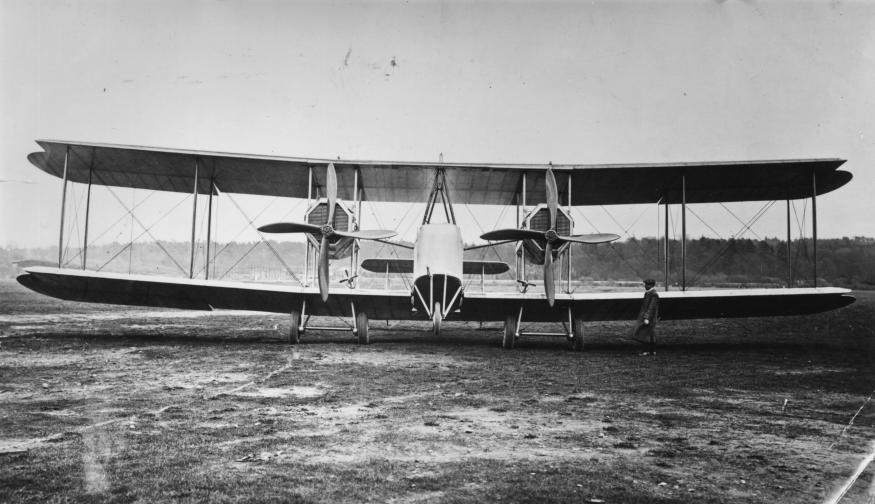 първи атлантически полет Джон Уилям Елкок самолет Викерс Артър Браун