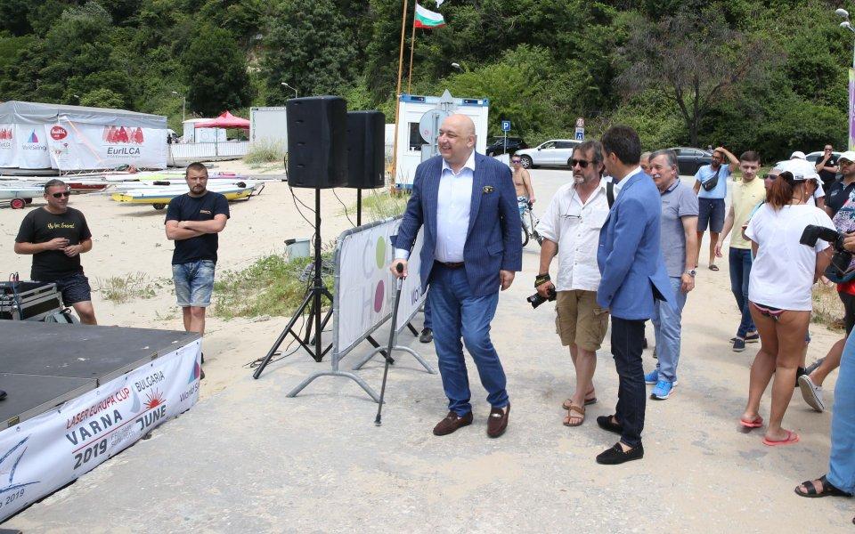 Министър Кралев откри Европейската купа по ветроходство