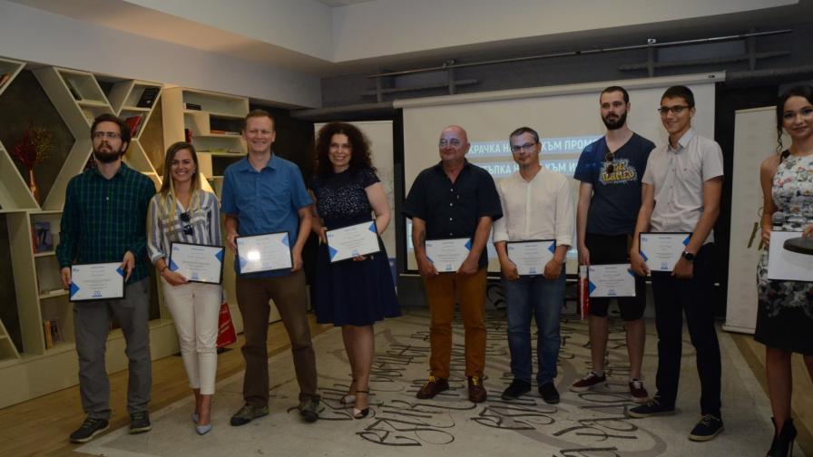 Наградите за чиста журналистика бяха раздадени за втори път у нас
