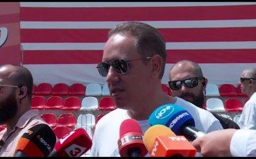 Георги Домусчиев: Пари за грозен футбол няма да даваме