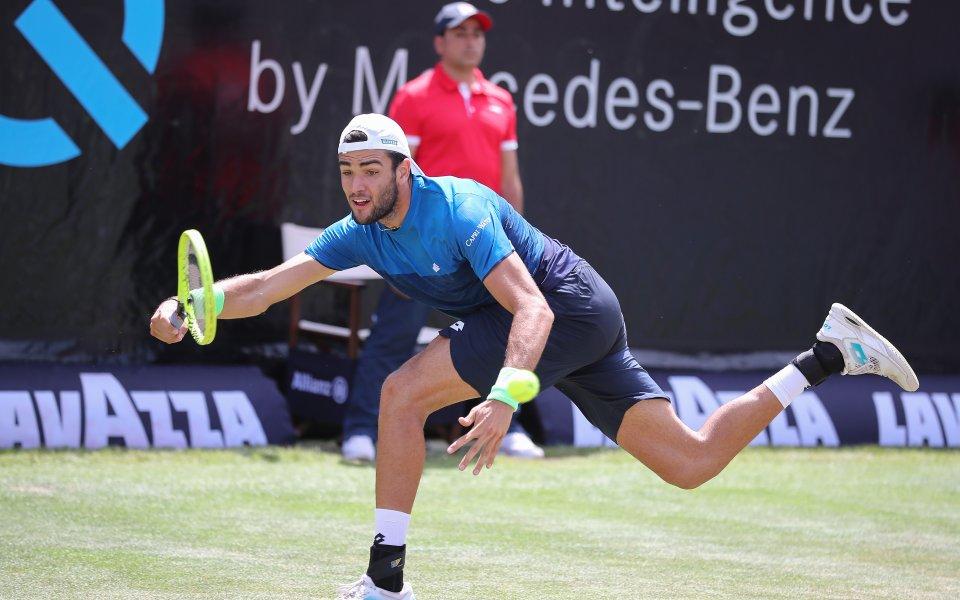 Беретини спечели първа титла на трева в кариерата си