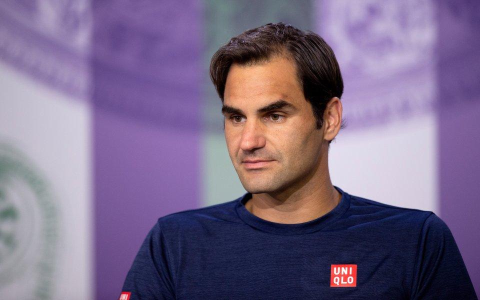 Роджър Федерер няма проблеми със здравето и физическата подготовка преди