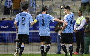 Уругвай разкъса Еквадор за старта си на Копа Америка