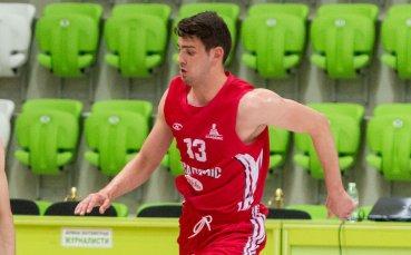 Талант на БК Академик ще играе в Словакия