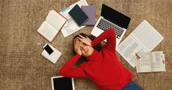 Любопитно 20 знака, че не се справяте със стреса Ако