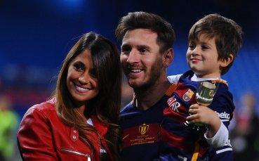 Семейството на Меси го подкрепи Аржентина срещу Катар