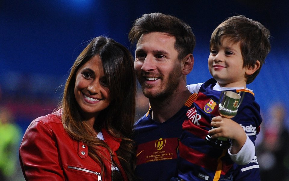 Съпругата на Лео Меси Антонела публикува няколко трогателни снимки на