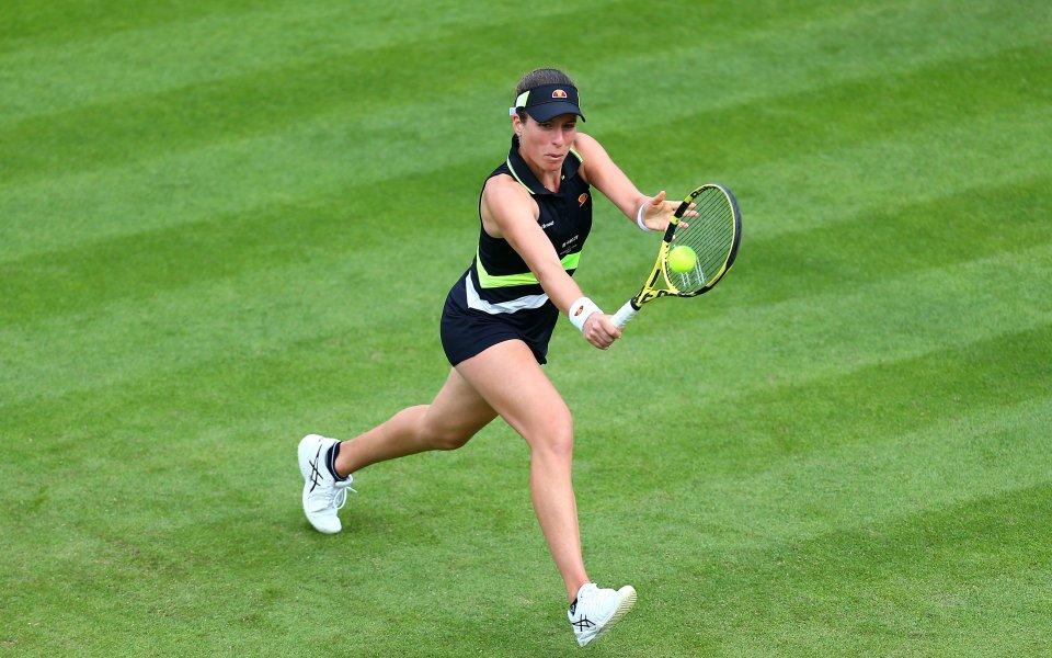 Йохана Конта откри с успех кампанията си на тенис турнира