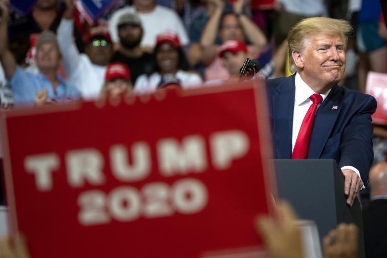 доналд тръмп сащ кампания президент