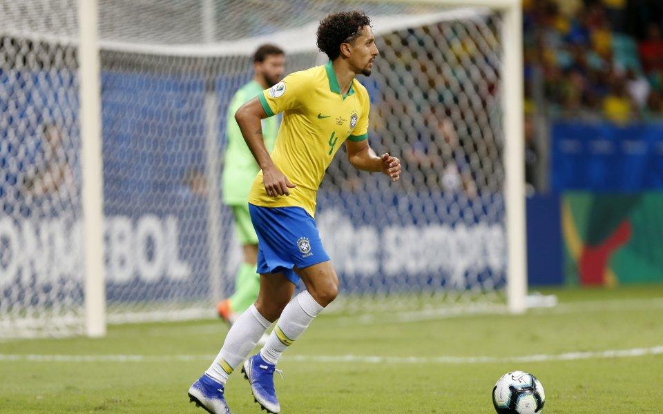 Националният състезател на Бразилия Маркос Аоас, по-известен като Маркиньос, довери,
