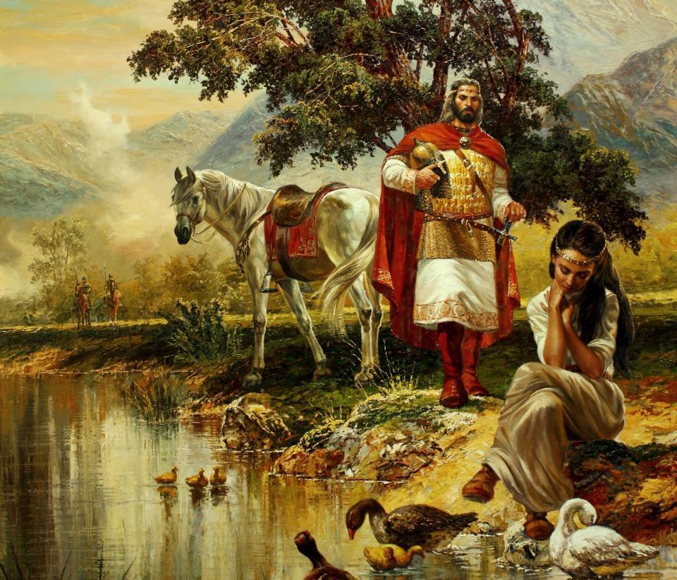цар самуил биляна