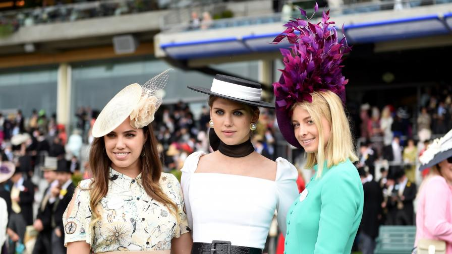 Вижте шапките в Роял Аскот тази година
