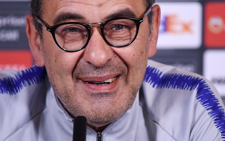 Новият треньор на Ювентус Маурицио Сари индикира, че смята да