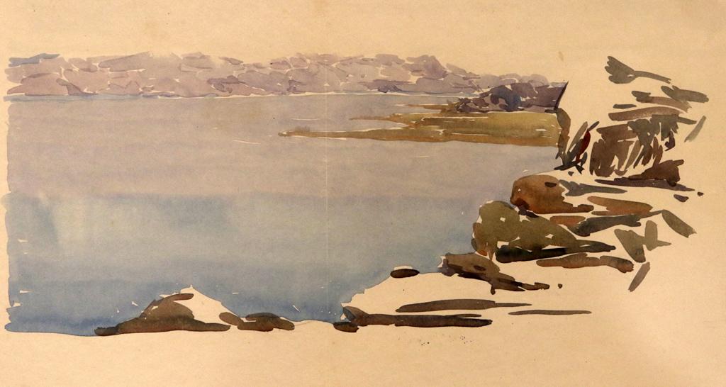 Охридското езеро 1916г.