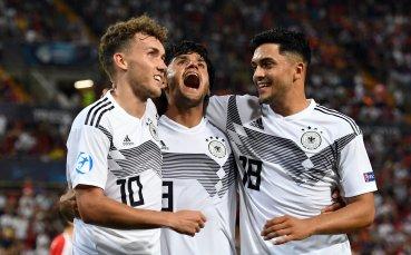 Германия U21 разгроми Сърбия на Европейското