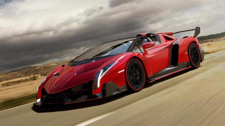 Lamborghini Veneno Roadster. Произведени са само 9, като стартовата цена на всеки бе $4,5 млн.