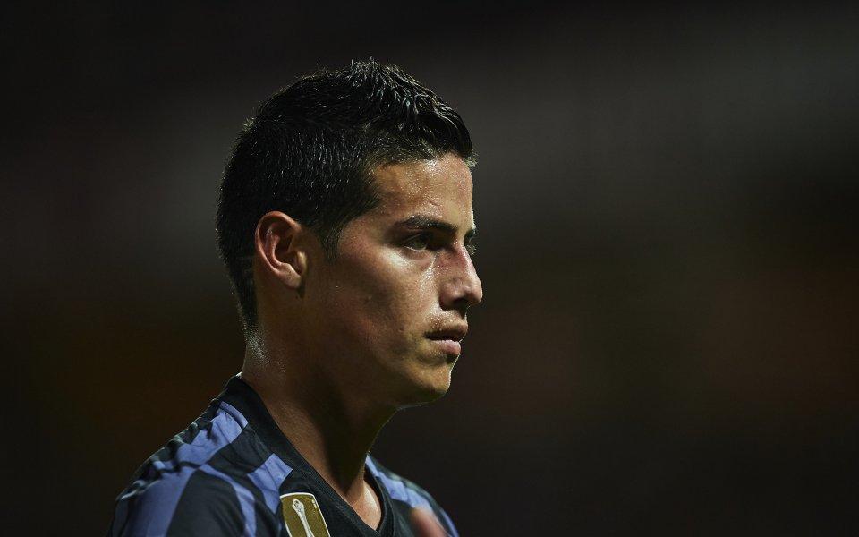 Реал Мадрид е поискал по-висока цена за Хамес Родиргес от