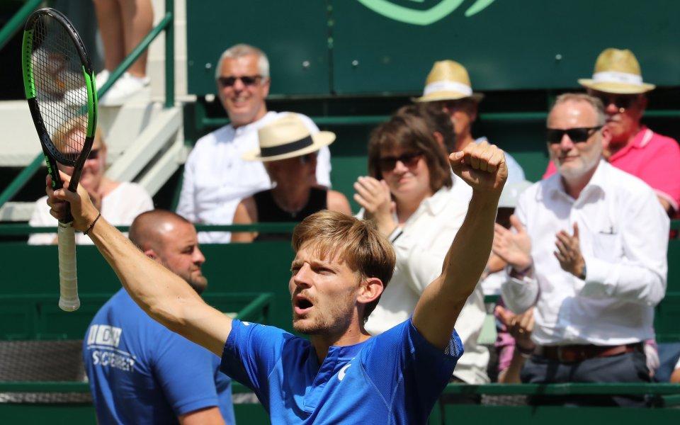 Гофен спря победната серия на Беретини за първи финал в Хале