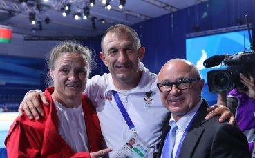 Първо злато за България от Европейските игри