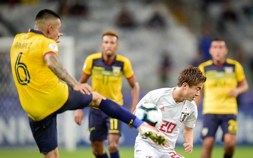 Играчите на Еквадор и Япония знаеха, че просто им трябва